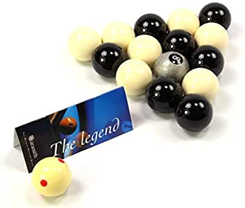 OFERTA! Aramith plata bola 8 edición en blanco y negro n juego de ...