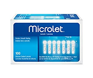 Bayer Contour Bayer Microlet Lancets