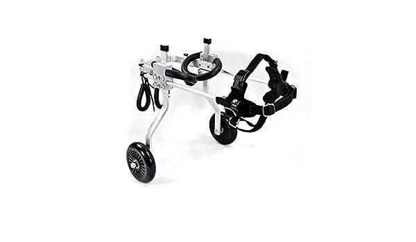 GHMHJH Ciclomotor de Mascota - Silla de Ruedas de Perro, Andador ...