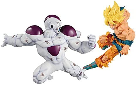 Banpresto Dragon Ball Z Match Makers Super Saiyan Son Goku Figure Out Of Box New