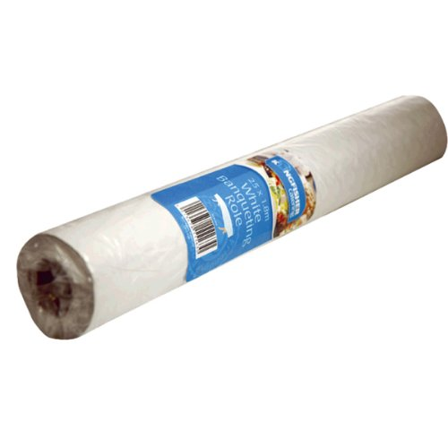 Kingfisher KCB25W Disposable Banquet Roll 25M White King Fisher