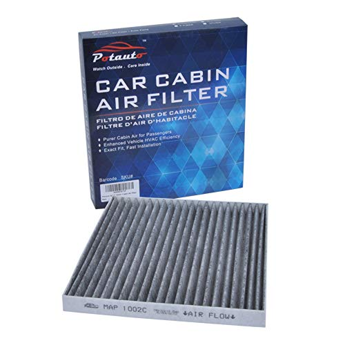 POTAUTO MAP 1002C (CF10133) Replacement Activated Carbon Car Cabin Air Filter for Toyota, Corolla, Matrix (Upgraded with Active Carbon)