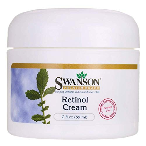 Swanson Retinol Cream 2 fl Ounce (59 ml) Cream