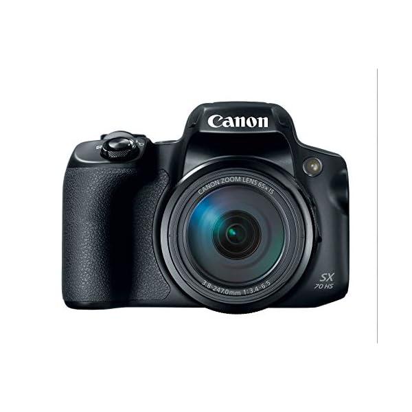 RetinaPix Canon Powershot SX70 20.3MP Digital Camera 65x Optical Zoom Lens 4K Video 3-inch LCD Tilt Screen (Black)
