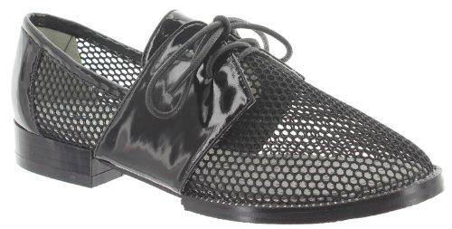 de Kling Noir lacets ville à pour Chaussures Noir Noir Noir femme PBqrBa5wx