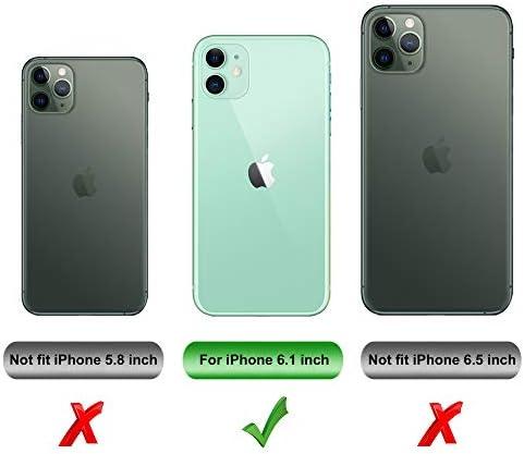 iBetter para iPhone 11 Funda, Fina de Silicona Funda, para iPhone ...