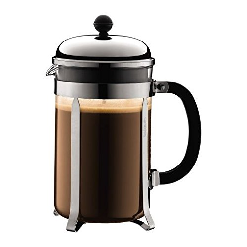 Bodum-Chambord-Coffee-Maker-12-Cup-Shiny-15L-34Oz-Pack-of-2