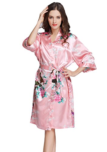 J ROBE Womens Printing Kimono Sleeve