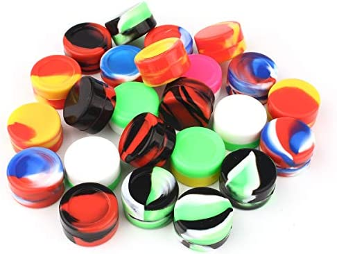 CEOKS Non Stick Silicone Container Multi Color