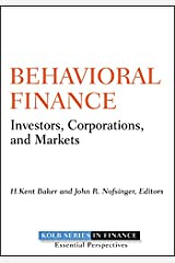 Behavioral Finance: Investors, Corporations, and Markets (Robert W. Kolb Series Book 6) (English Edition) eBook Kindle