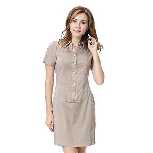 Short sleeved military uniform dress by JCH