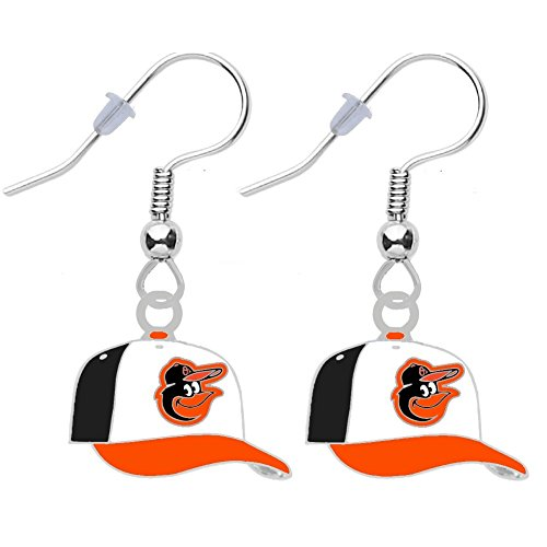 Final Touch Gifts Baltimore Orioles Cap Earrings - Final Orioles Baltimore Game