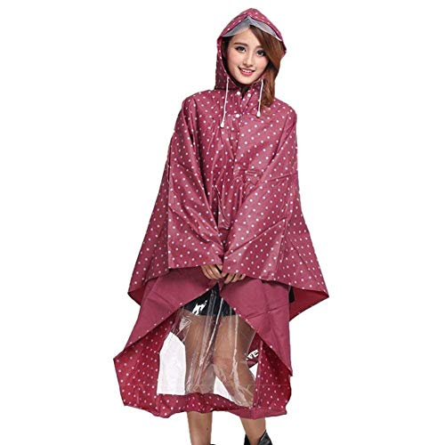 Donna Piumino Ragazza Moto Da Impermeabile Rot Bicycle Parka Rainwear Motorcycle Dots Poncho Fashion Coat Hx Chic Trench 5Rqwtt