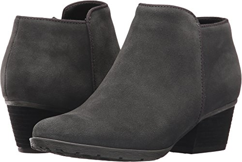Blondo Women's Villa Waterproof Dark Grey Suede 7 W US