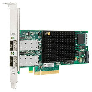 HP 595325-001 StorageWorks CN1000E dual port converged network adapter by HP