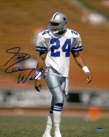 079d421c9 Everson Walls Autographed Photo - 8x10 white jersey) - Autographed NFL  Photos at Amazon's Sports Collectibles Store