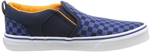 Vans Asher - Zapatillas Para Niños Azul (checkers/dress Blues/true Blue)