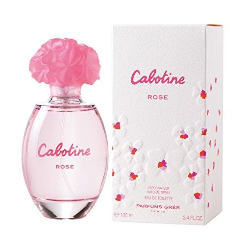 Cabotine Rose By Parfums Gres For Women. Eau De Toilette Spray 3.4 Ounces