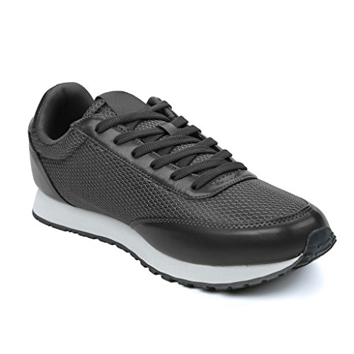 Hawkwell Mens Classic Casual Running Shoe Grey / Men