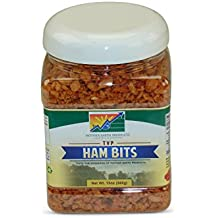Mother Earth Products Textured Vegetable Protein Ham Chiplets, Quart Jar, 13Oz