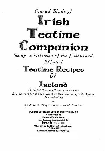 Conrad Bladey's Irish Teatime Companion by Conrad Bladey