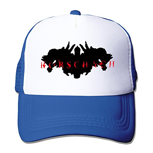 RoyalBlue RORSCHACH Hardcore Punk Powerviolence Fitted Hats Vintage Snapbacks (Rorschach Hat)