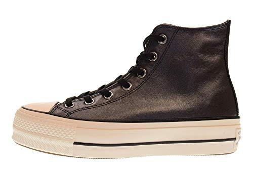 Basses black 001 Multicolore Taylor Chuck White Converse snow Hi Sneakers black Lift Ctas Femme wHnYxq7ZO