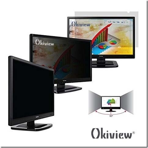 Okiview Privacy Filter for Widescreen Desktop LCD Monitor 20.1