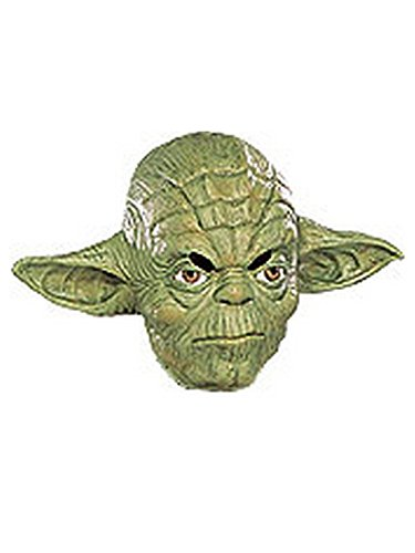Rubie's Costume Co Yoda 3/4 Vinyl Mask-Child Costume -