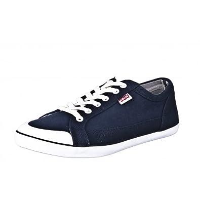 Levi's Herren Sneaker Blau Herrenschuhe Stoff Sommerschuhe