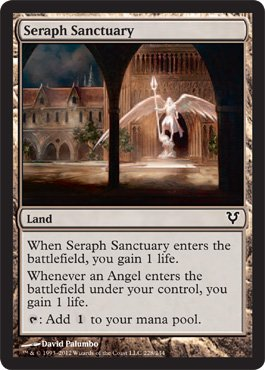 Magic: the Gathering - Seraph Sanctuary (228) - Avacyn Restored