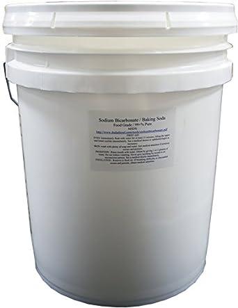 Amazon Com Duda Diesel Sbc50 50 Lb Pail Of Usp Pure Sodium Bicarbonate Powder Highest Quality Organic Food Grade Ormi Listed Pure Baking Soda Industrial Scientific