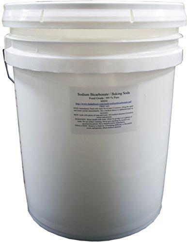50 lb pail of usp pure sodium bicarbonate powder highest quality organic food grade ormi listed. Black Bedroom Furniture Sets. Home Design Ideas