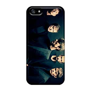 Apple Iphone 5/5s DlU4051JfSc Support Personal Customs High-definition Suede Band Pattern Excellent Cell-phone Hard Cover -phonecaseforall