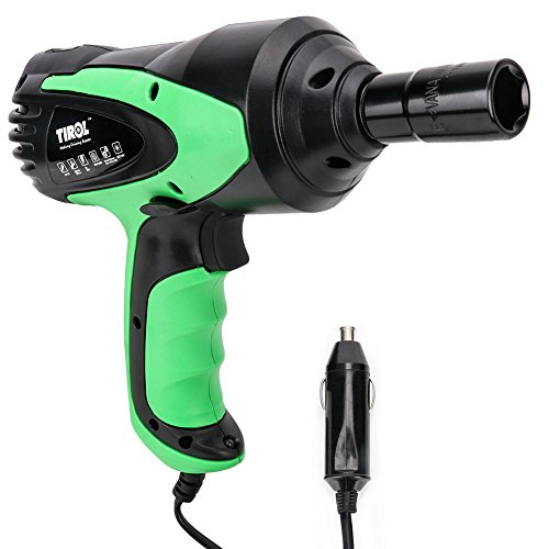 TIROL Electric Impact Wrench for Car 80W Air Pneumatic Impact Wrench Tire Repair Tools
