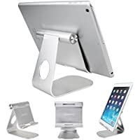 Tablet Stand Holder , iPad Stand ,Oenbopo 270° Rotatable Aluminum Desktop Tablet Holder Stand for iPad Pro iPad Mini iPad Air iPhone X/8/7/7Plus 6S Plus 5S Samsung Note8/7/5 S8 S7 S6 S5 GPS