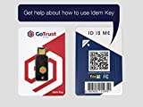 GoTrust Idem Key - FIDO2 USB and NFC Security Key