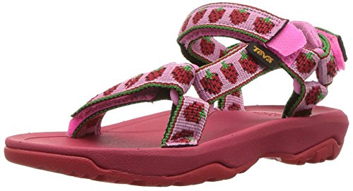 - Teva Girls' T Hurricane XLT 2 Sport Sandal, Strawberry Pink, 8 M US Toddler