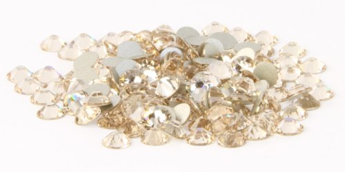 SS16 Swarovski Rhinestones - Light Silk (1 Gross = 144 pieces) (Silk Roses Swarovski)