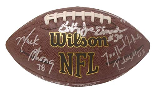 Signed Steve Largent Hand (Seattle Seahawks Legends and Alumni Autographed Hand Signed NFL Wilson Football with Proof Photo of Signing and COA, Steve Largent, Dave Krieg, Jim Zorn, Walter Jones, Jacob Green)
