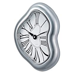 Verichron World Time Metal Dali Wall Clock