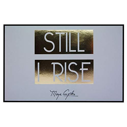 African American Expressions - Still I Rise Wall Plaque (9.75