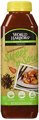 Sweet And Sour Dipping Sauce (World Harbors Sauce Sweet 'n Sour -- 16 fl oz)