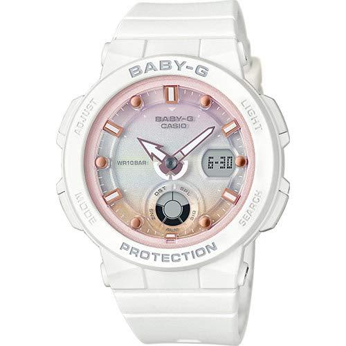 BABY-G Reloj Analógico-Digital para Mujer de Cuarzo con Correa en Resina BGA-250-7A2ER: Amazon.es: Relojes