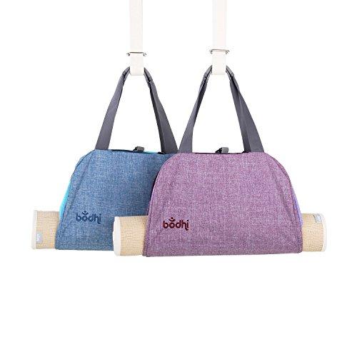 BODHI Yogatasche NAMASTÉ, Yogamatten-Tragetasche im Handtaschen-Look (light berry)