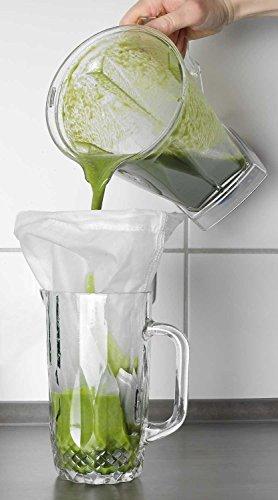 Bolsa de leche/colador de tela para la leche estás estresado alternativas y muchas otras aplicaciones de 100% Nylon: Amazon.es: Electrónica