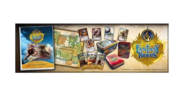 Amazon.com: Panini Fantasy Riders 003543TINE Box of 50 Cards ...