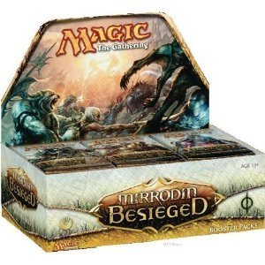 Magic The Gathering Mirrodin Besieged Booster Box Includes 36 Packs by Wizards of the Coast