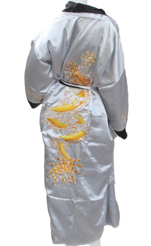 new-light-gray-chinese-bath-robe-with-really-big-dragon-on-sell-with-complimentary