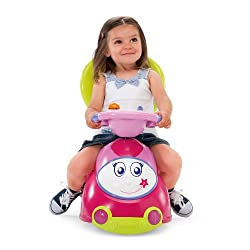 Chicco 4-in-1 Ride-On Car, Pink